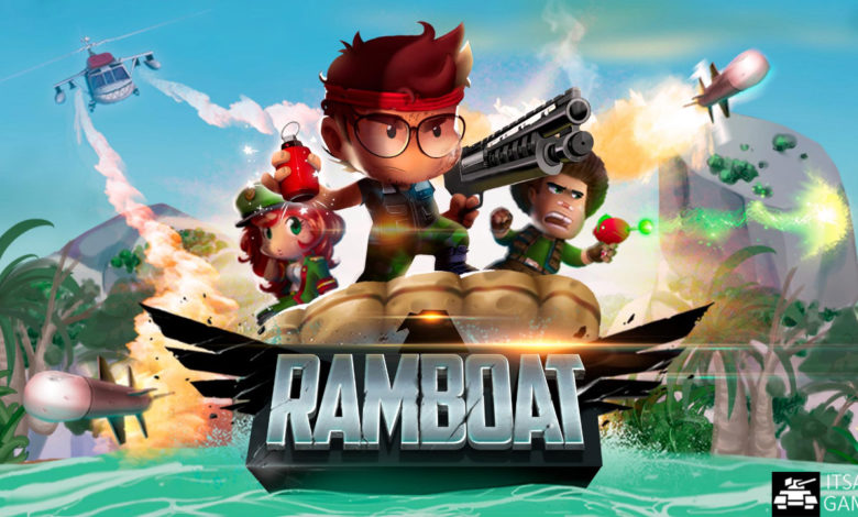 Ramboat Game | Use Your Gun To Destroy Crazy Troops Of Villains |