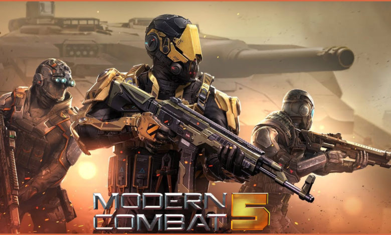 Modern Combat 5 Game | You Can Online Shoot Enemies On Android |