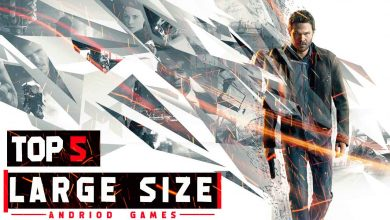 Photo of TOP 5 LARGE SIZE GAMES FOR ANDROID (ONLINE/OFFLINE)