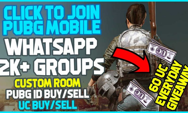 Join PUBG Custom Room Whatsapp Group Via Links 2K+ Groups List 2021