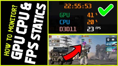 MSI Afterburning FPS counter is a best tool for monitoring GPU CPU while gaming